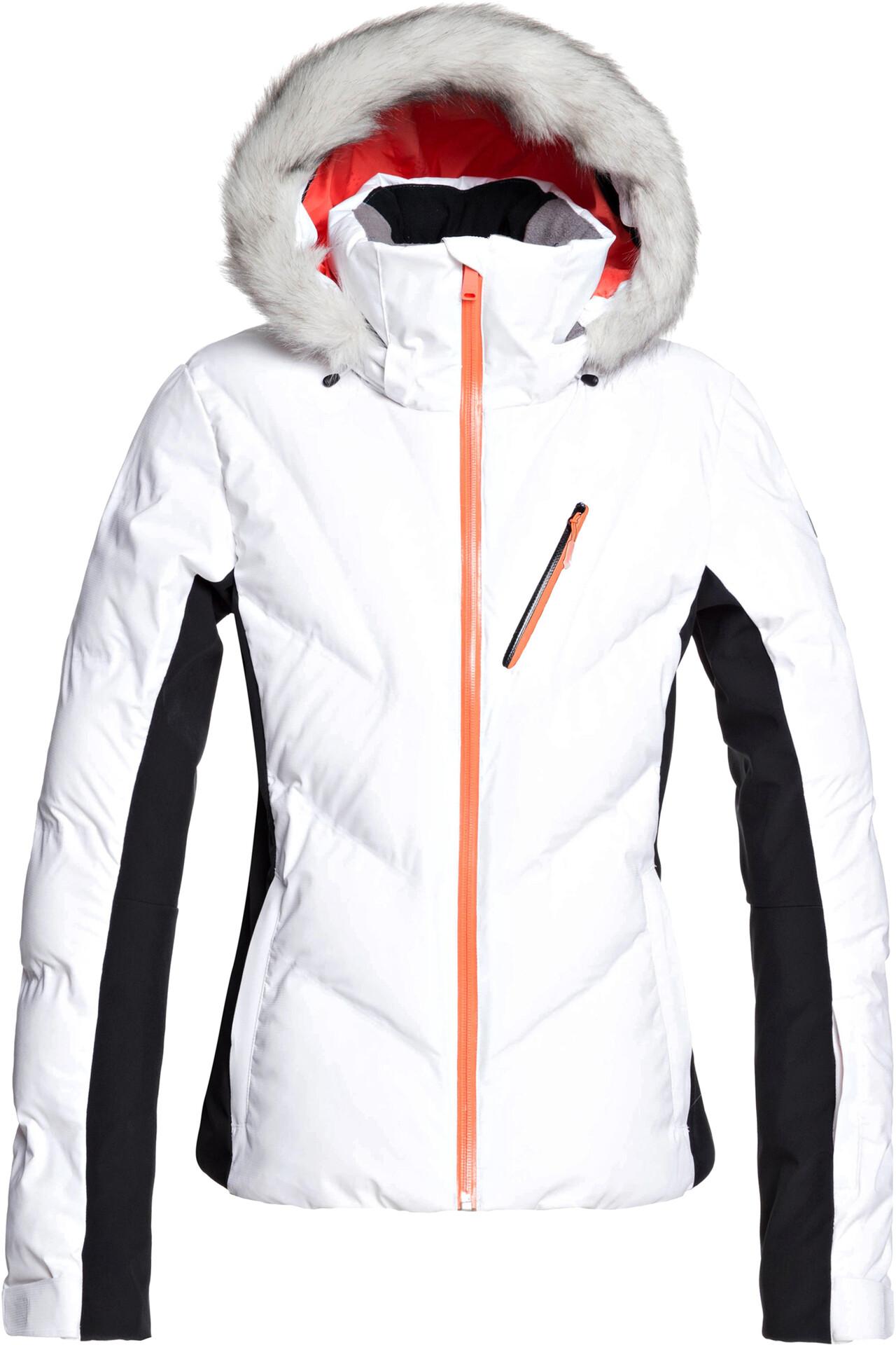 Jacket Women Snowstorm Roxy White Bright u3lFK1JTc